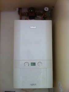 Modern, high efficiency boiler